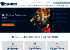 Ptcedu Info Piedmont Technical College
