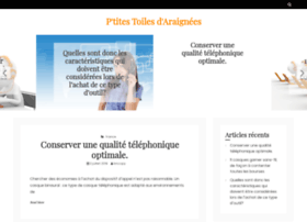 ptitestoilesdaraignees.fr