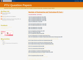 ptuquestionpapers.blogspot.in