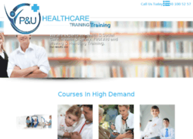 pu-healthcaretraining.com