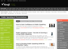 public-speaking-presentations.knoji.com