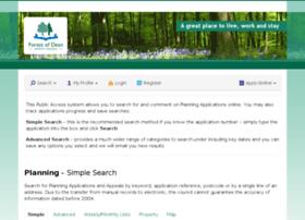 publicaccess.fdean.gov.uk