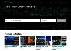 publicartarchive.org