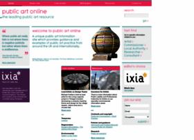 publicartonline.org.uk