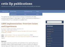 publications.cetis.ac.uk