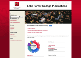 publications.lakeforest.edu