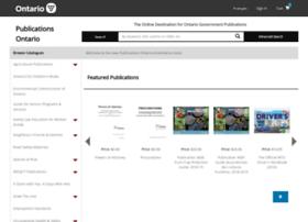 publications.serviceontario.ca