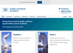 publiccontractsscotland.com
