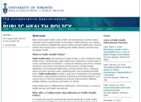 publichealthpolicy.utoronto.ca