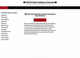 Publicholidaysaustralia.com.au