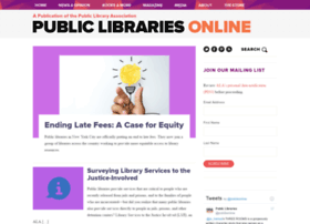 publiclibrariesonline.org