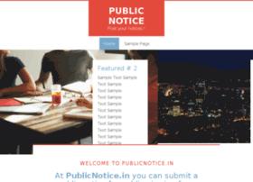 publicnotice.in
