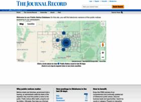 publicnotices.journalrecord.com