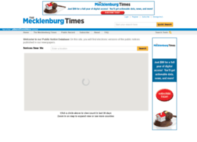publicnotices.mecktimes.com