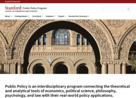 publicpolicy.stanford.edu