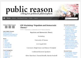 publicreason.net