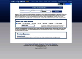 publicrecords.searchsystems.net