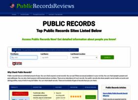 publicrecordsreviews.com