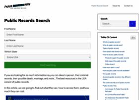publicrecordssearch.org