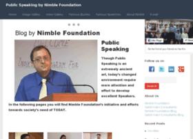 publicspeaking.nimblefoundation.org