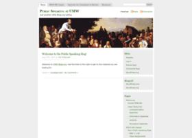 publicspeaking.umwblogs.org