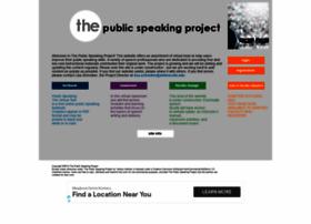 publicspeakingproject.org