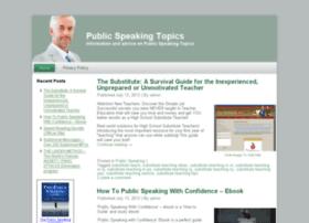 publicspeakingtopics.org