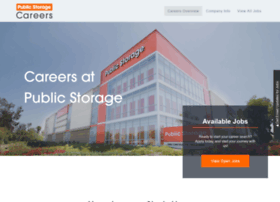 publicstoragejobs.com