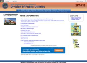 publicutilities.utah.gov