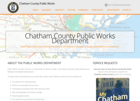 publicworks.chathamcounty.org