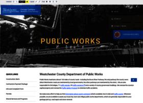 Publicworks.westchestergov.com