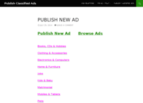 publishclassifiedads.com