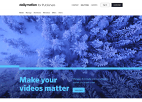 publisher.dailymotion.com