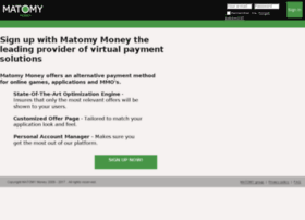 publishers.matomymoney.com