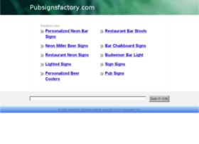 pubsignsfactory.com