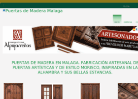 puertasdemaderamalaga.com