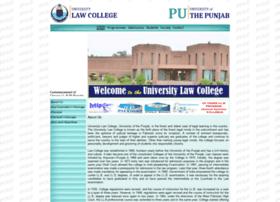 pulc.edu.pk