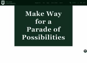 pulse.tcs.tulane.edu