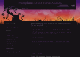 pumpkinankles.com