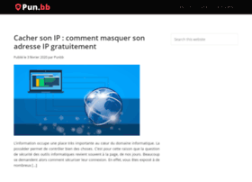 punbb.fr