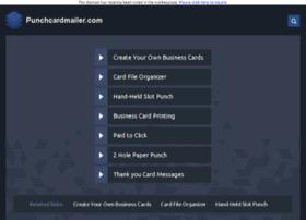 punchcardmailer.com