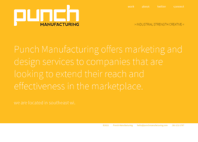 punchmanufacturing.com
