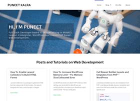 puneetk.com