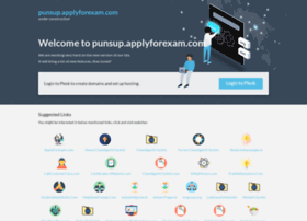 punsup.applyforexam.com