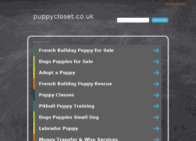 puppycloset.co.uk