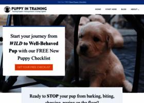 puppyintraining.com