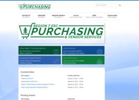 purchasing.esc7.net