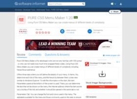 pure-css-menu-maker.software.informer.com