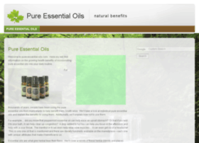 pure-essential-oils.com