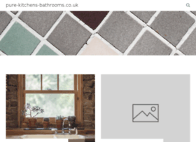 pure-kitchens-bathrooms.co.uk